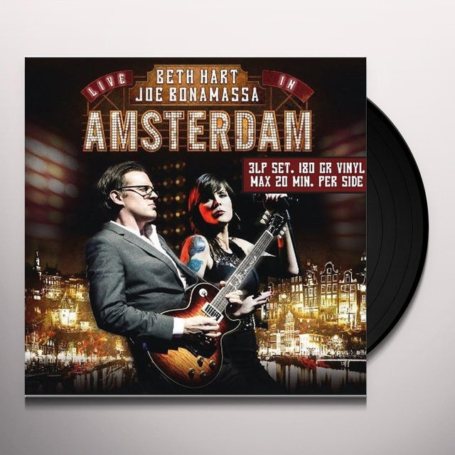 Beth Hart & Joe Bonamassa LIVE IN AMSTERDAM Vinyl Record