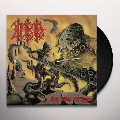 Urn IRON WILL OF POWER Vinyl Record