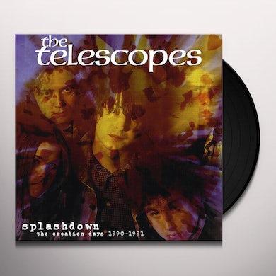Telescopes SPLASHDOWN: CREATION DAYS 1990-1991 Vinyl Record