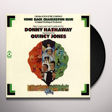 Donny Hathaway COME BACK CHARLESTON BLUE / Original Soundtrack Vinyl Record