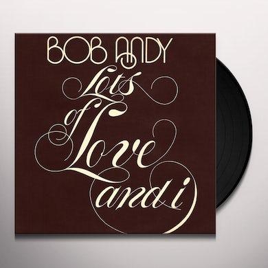 LOTS OF LOVE & I Vinyl Record