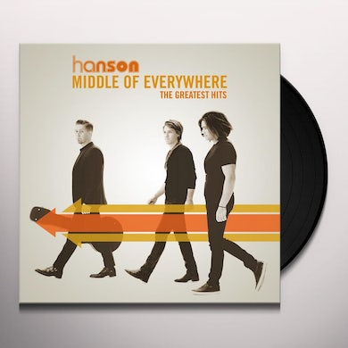 Hanson MIDDLE OF EVERYWHERE: THE GREATEST HITS Vinyl Record