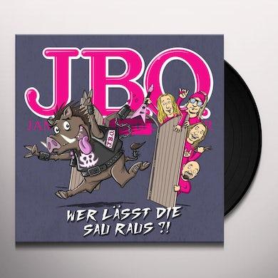 J.B.O. WER LASST DIE SAU RAUS Vinyl Record