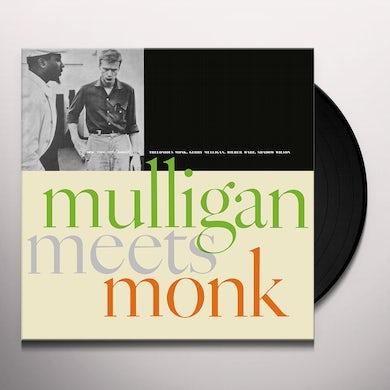 Thelonious Monk / Gerry Mulligan MULLIGAN MEETS MONK Vinyl Record