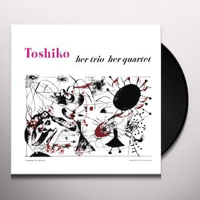 Toshiko Akiyoshi HER TRIO HER QUARTET Vinyl Record