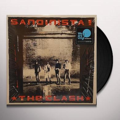 The Clash SANDINISTA! Vinyl Record