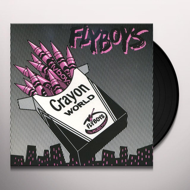 Flyboys CRAYON WORLD / SQUARE CITY Vinyl Record