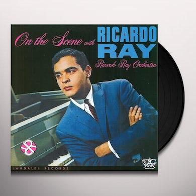 Ricardo Ray ON THE SCENE Vinyl Record