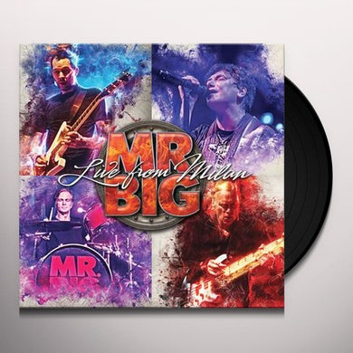 Mr Big Live From Milan Vinyl Record