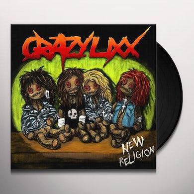 Crazy Lixx New Religion Vinyl Record