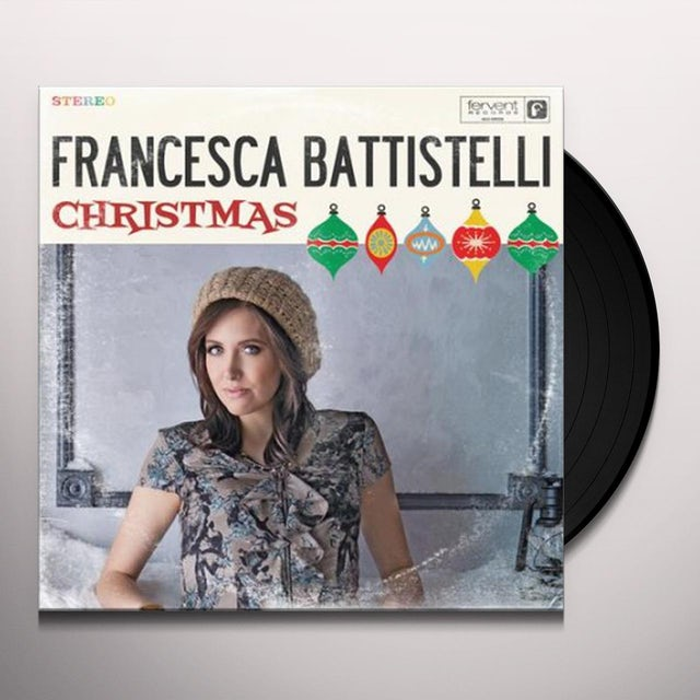 Francesca Battistelli CHRISTMAS Vinyl Record