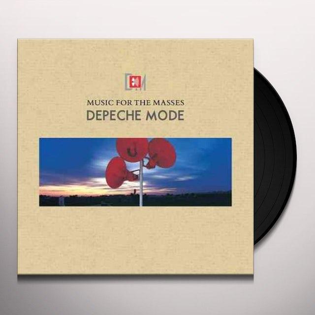 Depeche Mode MUSIC FOR THE MASSES Vinyl Record