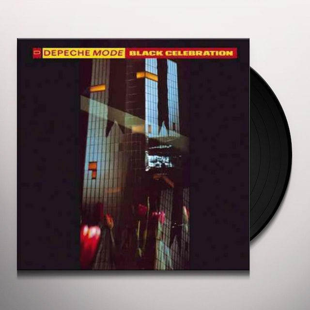 Depeche Mode BLACK CELEBRATION Vinyl Record