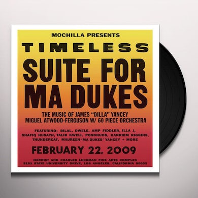 TIMELESS: SUITE FOR MA DUKES / VARIOUS Vinyl Record