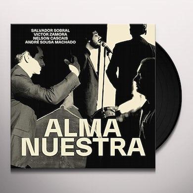 Salvador Sobral ALMA NUESTRA Vinyl Record