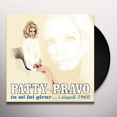 Patty Pravo TU MI FAI GIRAR I SINGOLI 1968 Vinyl Record