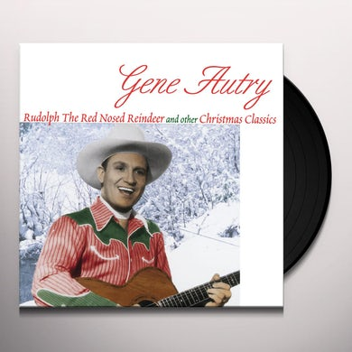 Gene Autry Rudolph The Red Nosed Reindeer Vinyl Record