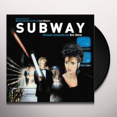 Eric Serra SUBWAY / Original Soundtrack Vinyl Record