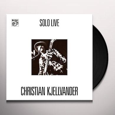 SOLO LIVE Vinyl Record