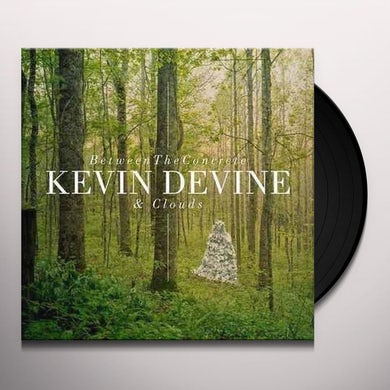 Kevin Devine BETWEEN THE CONCRETE & CLOUDS Vinyl Record - Portugal Release