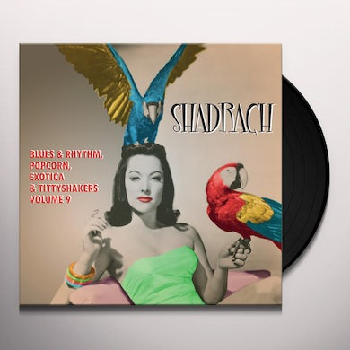 SHADRACH: BLUES & RHYTHM POPCORN EXOTICA 9 / VAR Vinyl Record
