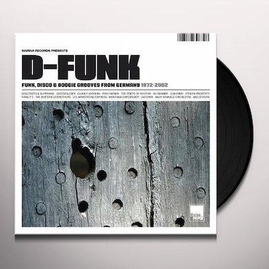 D-FUNK: FUNK DISCO & BOOGIE GROOVES GERMANY / VAR Vinyl Record