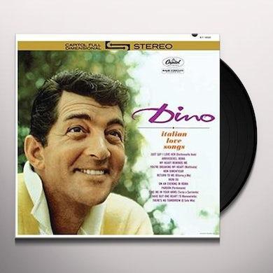 Dean Martin DINO: ITALIAN LOVE SONGS Vinyl Record