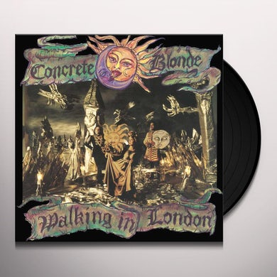Concrete Blonde WALKING IN LONDON Vinyl Record