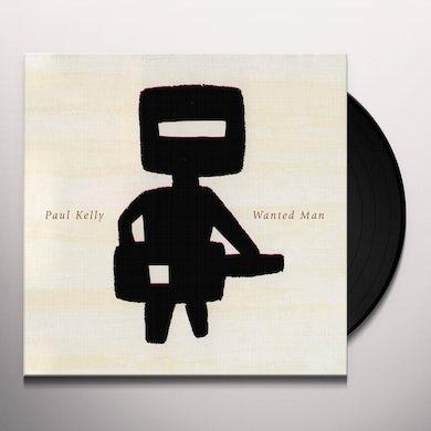 Paul Kelly WANTED MAN Vinyl Record