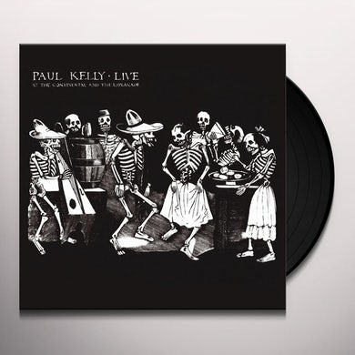 Paul Kelly LIVE AT THE CONTINENTAL & THE ESPLANADE Vinyl Record