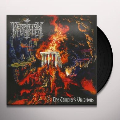 PERDITION TEMPLE TEMPTER'S VICTORIOUS Vinyl Record