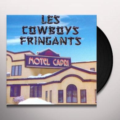 Les Cowboys Fringants MOTEL CAPRI Vinyl Record