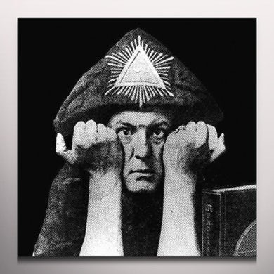 Aleister Crowley EVIL BEAST - Limited Edition Numbered Colored Vinyl Record