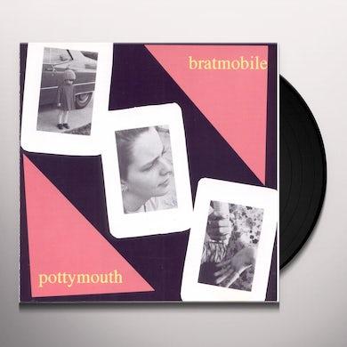 BRATMOBILE Pottymouth Pink Vinyl Vinyl Record