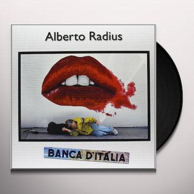 Alberto Radius BANCA D'ITALIA Vinyl Record
