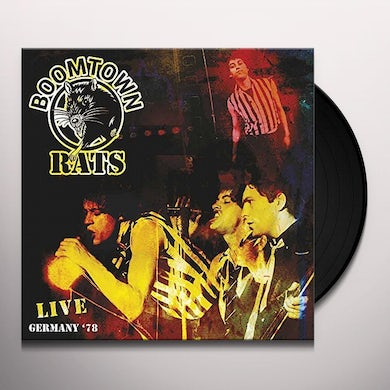 Boomtown Rats LIVE GERMANY '76 Vinyl Record