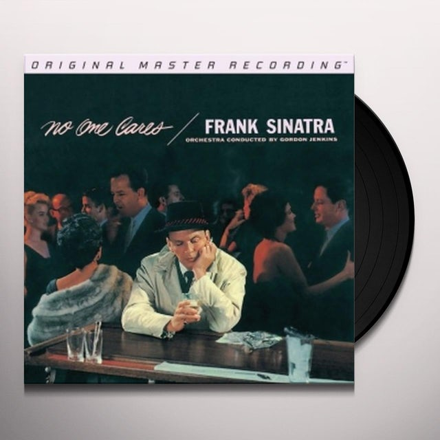 Frank Sinatra NO ONE CARES Vinyl Record - Limited Edition, 180 Gram Pressing