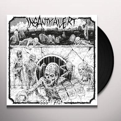 Insanity Alert 666-PACK Vinyl Record