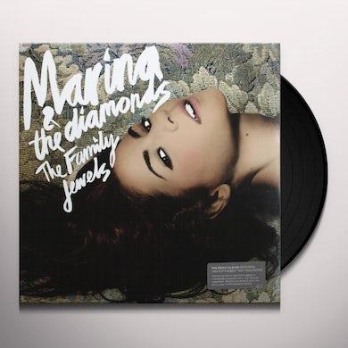 Marina & The Diamonds FAMILY JEWELS Vinyl Record