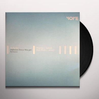 Andy Vaz DIFFERENT TIMES & YOU GOT REMIXES Vinyl Record
