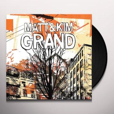 Matt & Kim GRAND Vinyl Record