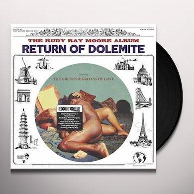 Rudy Ray Moore RETURN OF DOLEMITE: SUPERSTAR Vinyl Record