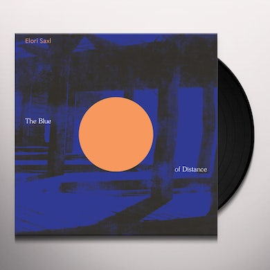 Elori Saxl BLUE OF DISTANCE (CLOUDY CLEAR VINYL) Vinyl Record