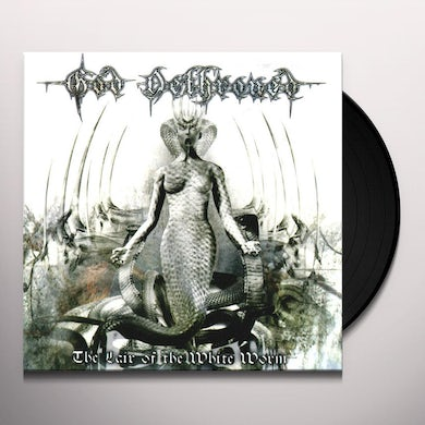 God Dethroned LAIR OF THE WHITE WORM Vinyl Record