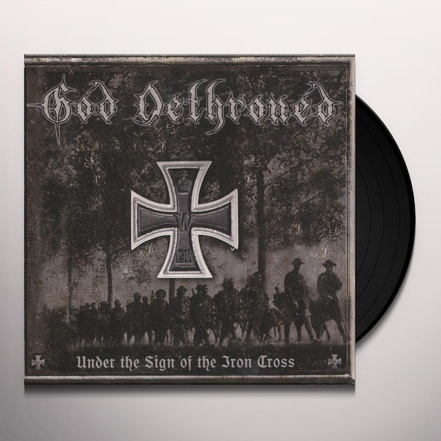 God Dethroned UNDER THE SIGN OF THE IRON CROSS Vinyl Record
