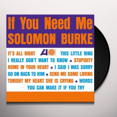 IF YOU NEED ME Vinyl Record