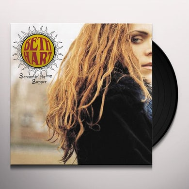 Beth Hart SCREAMIN FOR MY SUPPER Vinyl Record