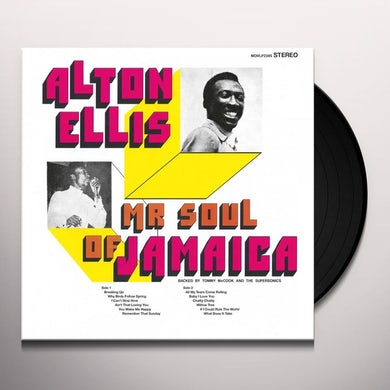 MR SOUL OF JAMAICA Vinyl Record