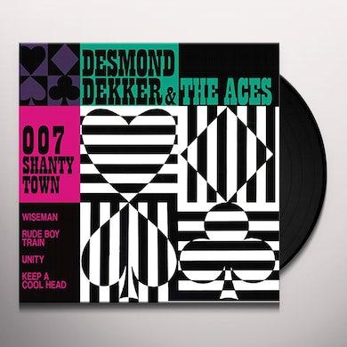 Desmond Dekker / Aces 007 SHANTY TOWN Vinyl Record