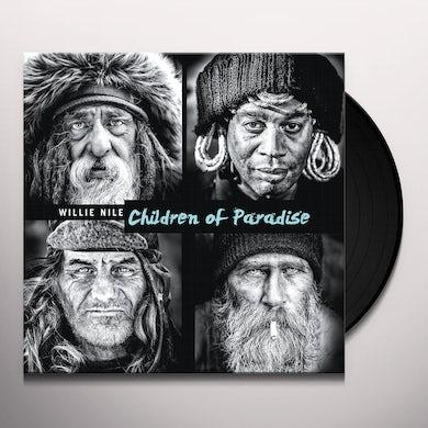 Willie Nile CHILDREN OF PARADISE Vinyl Record